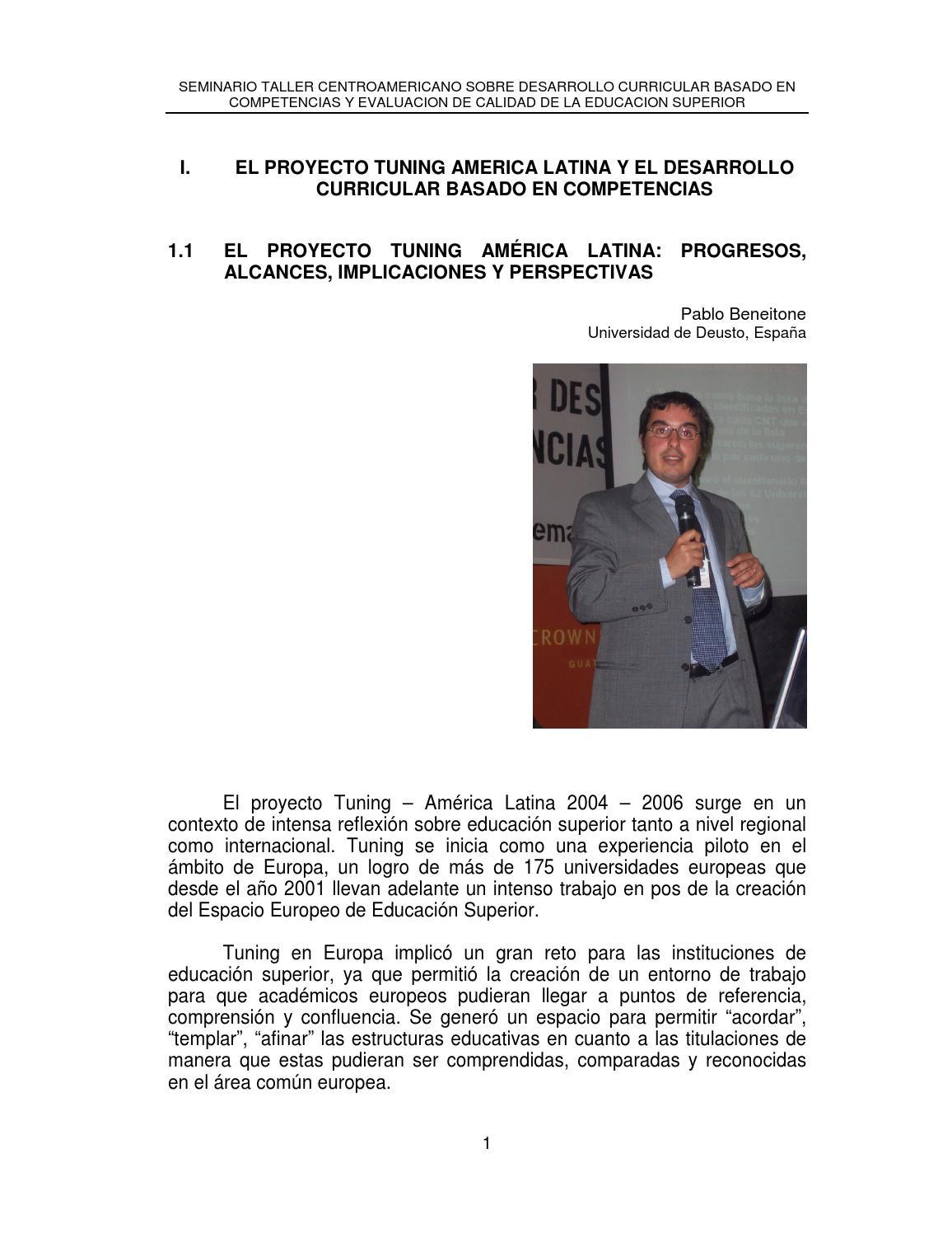 122 memoria i seminario taller sobre desarrollo curricular basado en ...