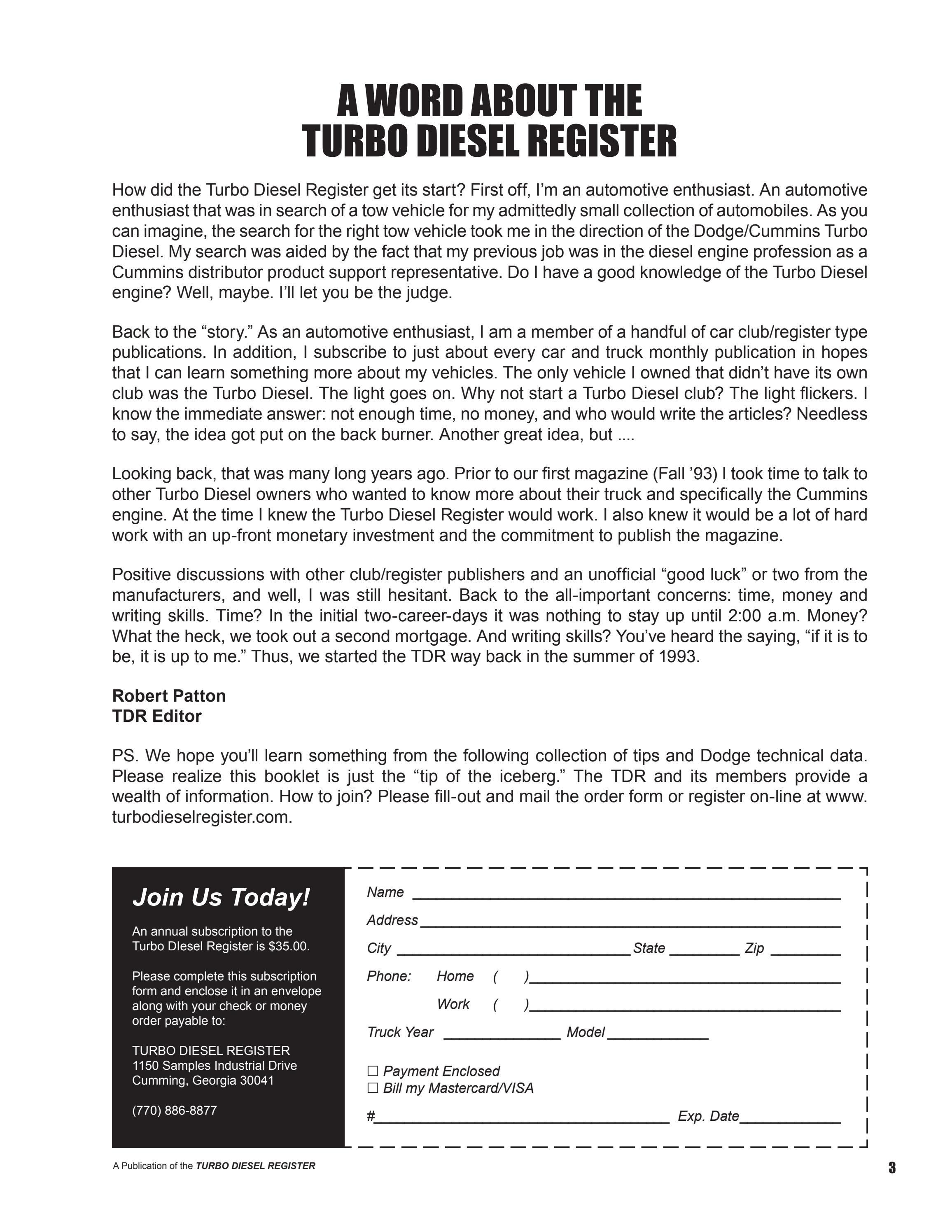 Turbo Diesel Register >> Turbo Diesel Buyer S Guide By Turbo Diesel Register Issuu