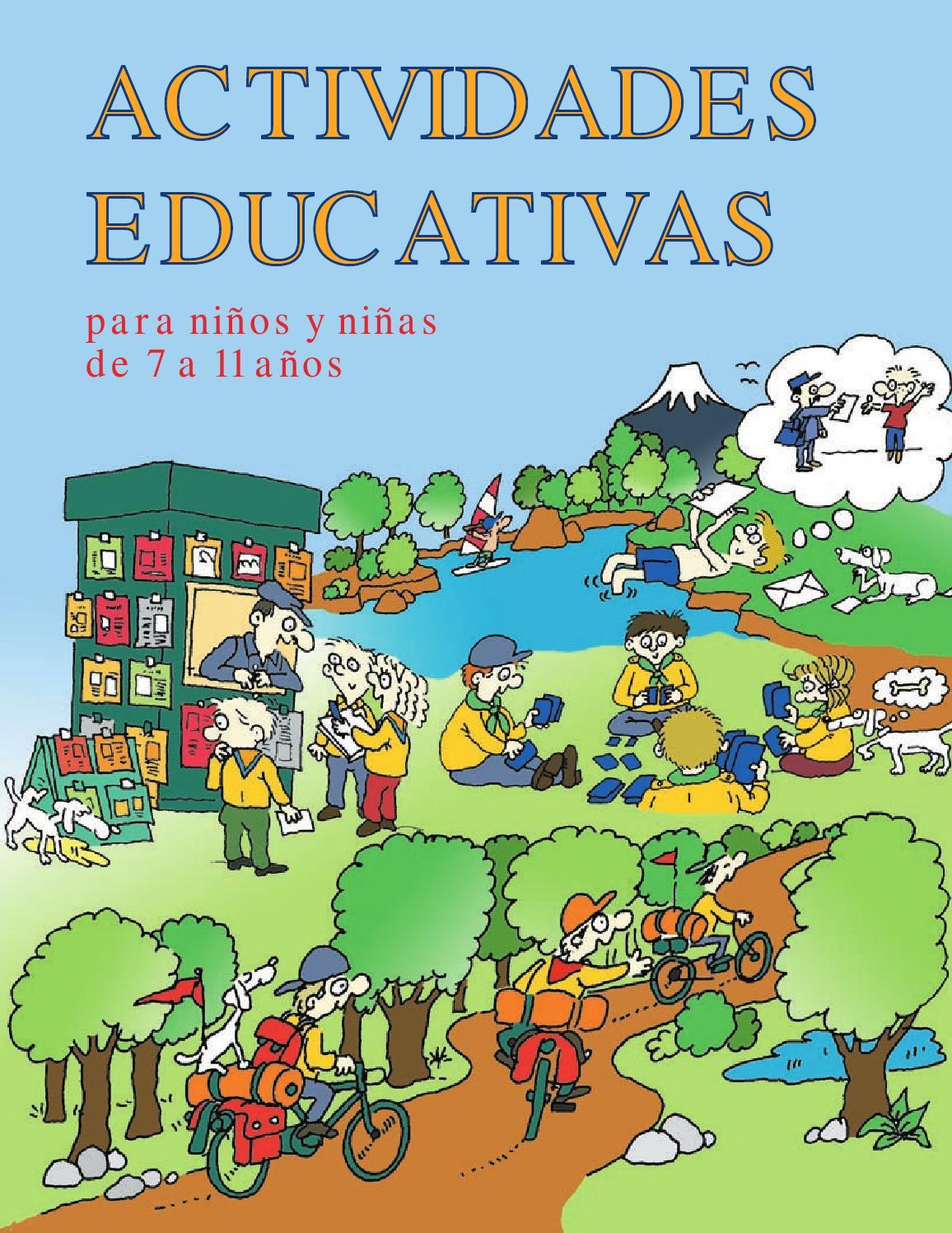 Actividades Educativas para niños y niñas de 7 a 11 años by Dario ...