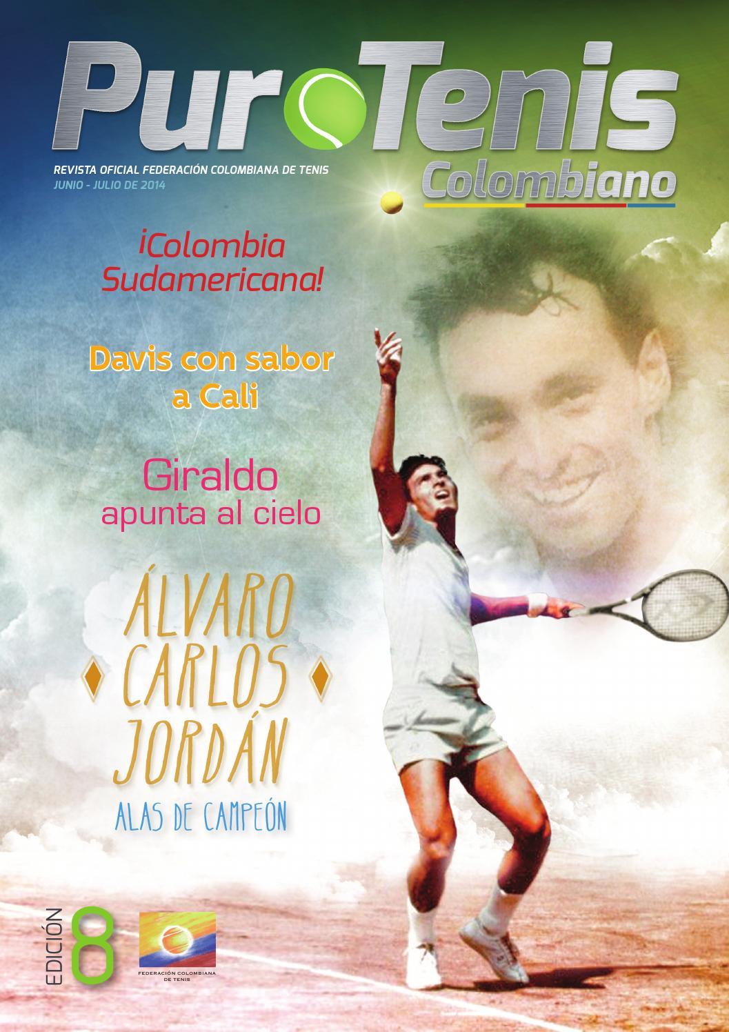 Revista Puro Tenis Colombiano - Edición #8 by Fedecoltenis ...