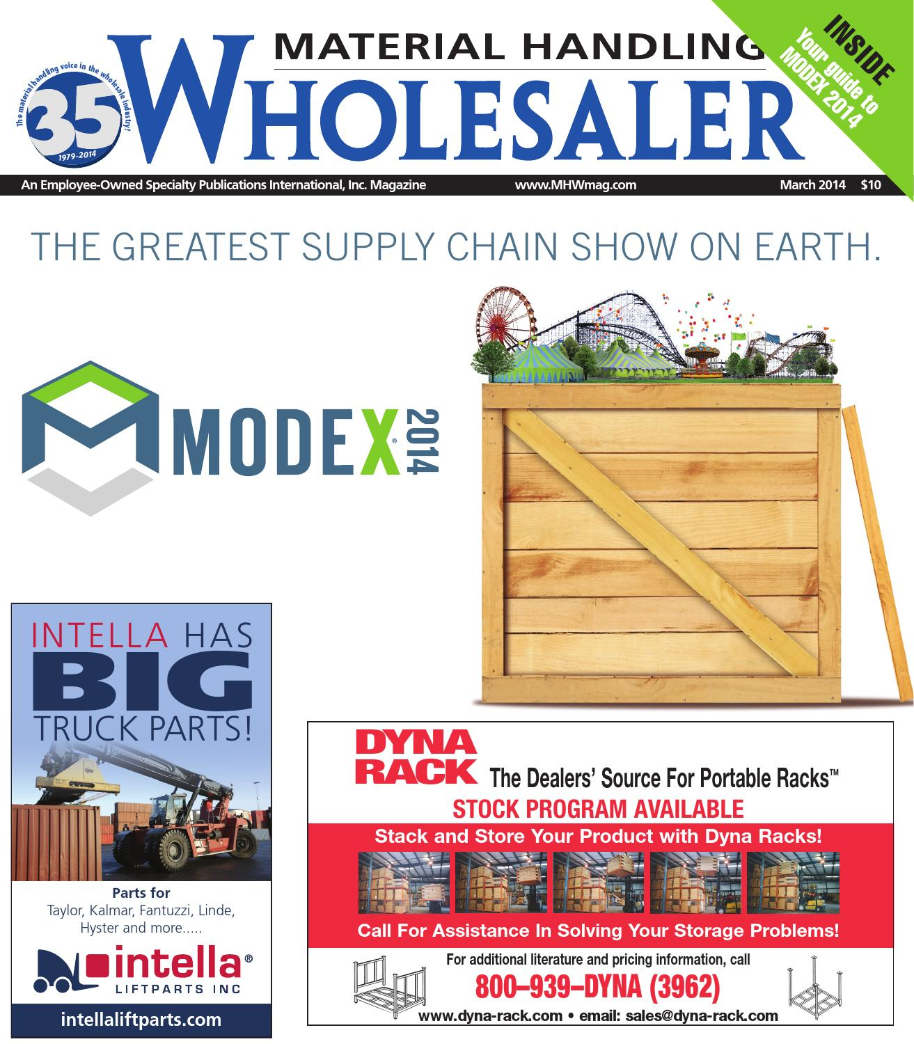 March 2014 by Material Handling Wholesaler - issuu