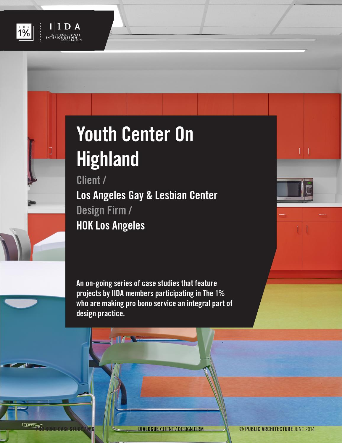 Youth Center On Highland The 1 IIDA by Public Architecture issuu