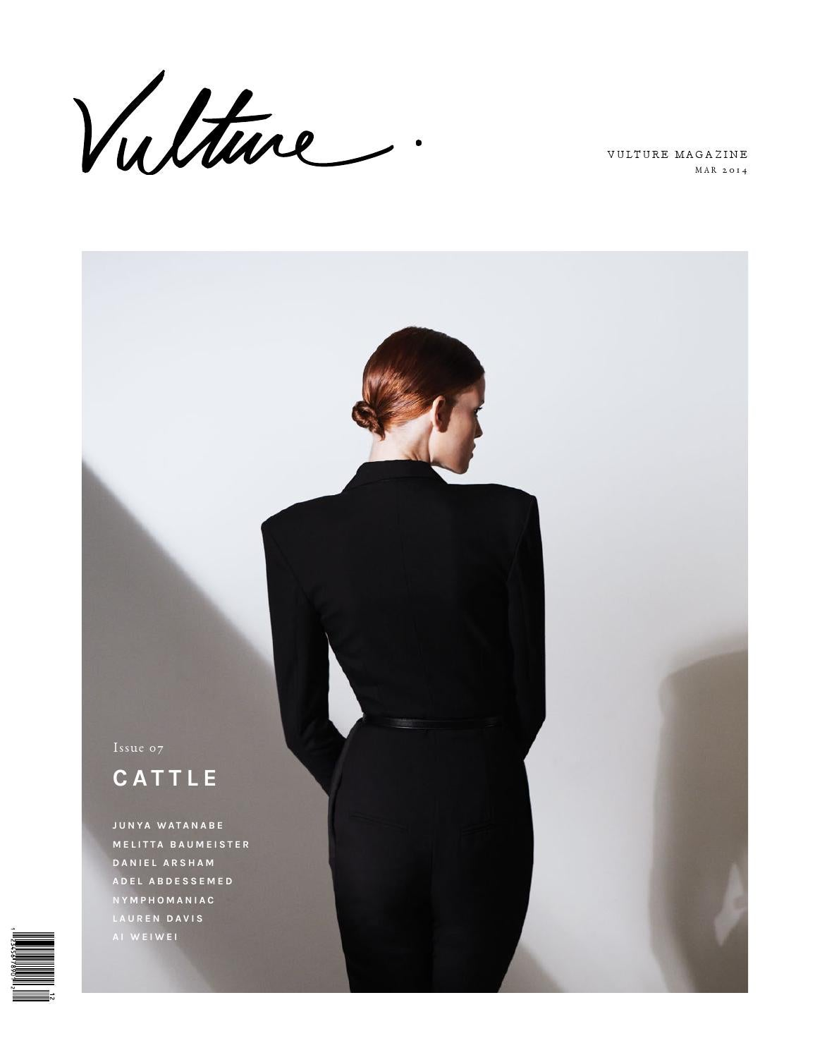 ab68203d1798 Vulture Magazine Issue 07  Cattle by Vulture Magazine - issuu