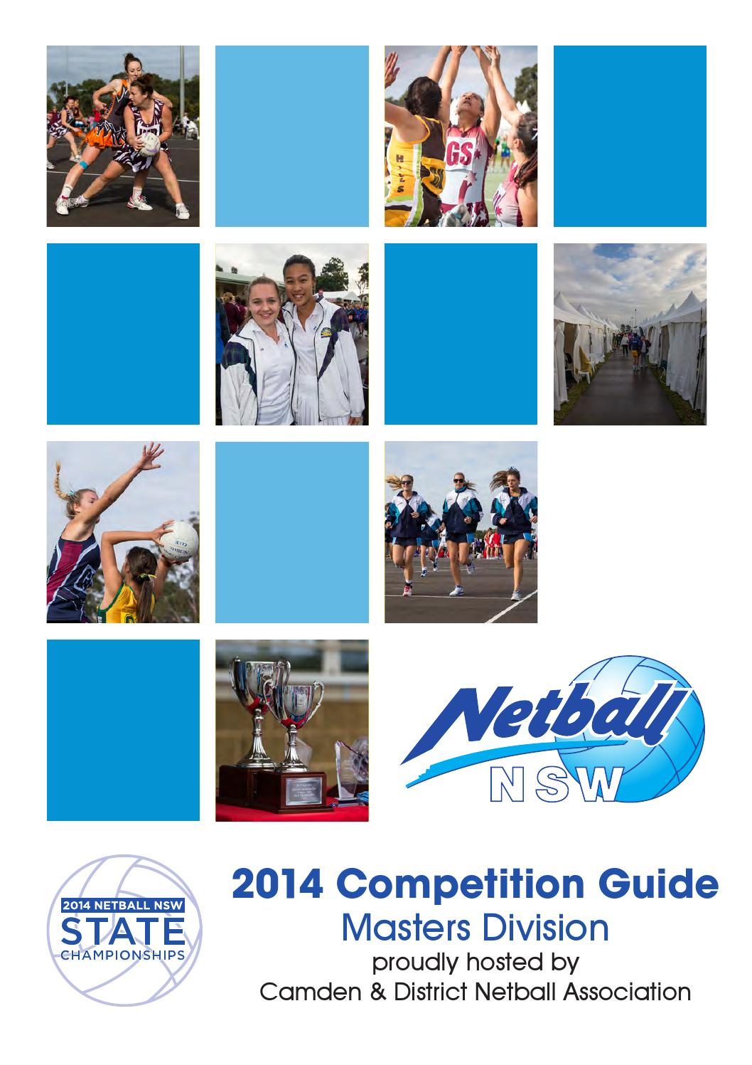 2014 Netball NSW State Championships - Masters Division by