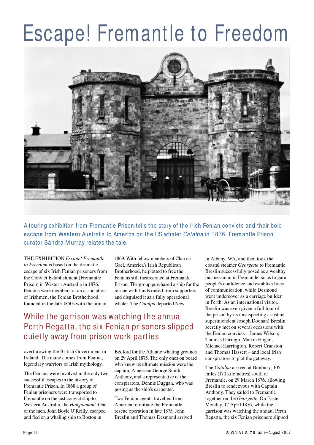 Signals, Issue 79 by Australian National Maritime Museum - issuu