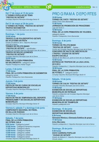 Fiestas Getafe 2014. Programa Ayuntamiento de Getafe by Ayuntamiento ... f13914b2447ab