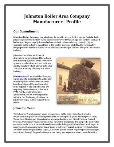 Johnston Boiler Area Company Manufacturer - Profile by jennylum19 ...