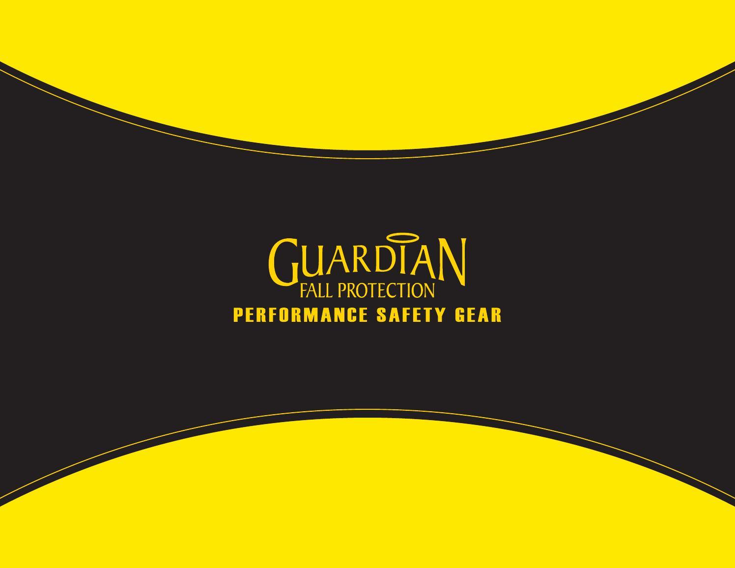 Guardian Fall Protection 01270 6-Foot Double Leg Non-Shock Absorbing Lanyard