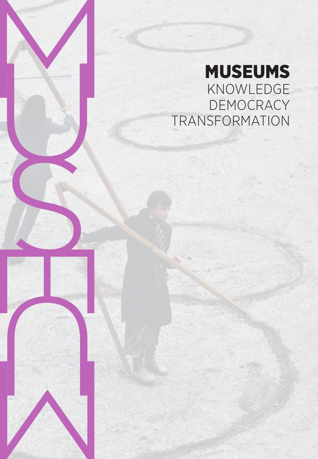 Museums Knowledge Democracy Transformation By Jacob Thorek