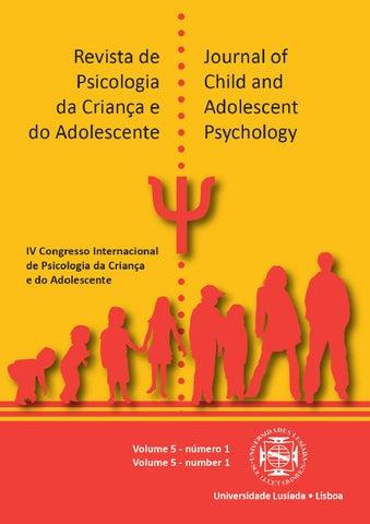 Revista de psicologia da criana e do adolescente journal of child revista de psicologia da criana e do adolescente journal of child and adolescent psychology fandeluxe Images