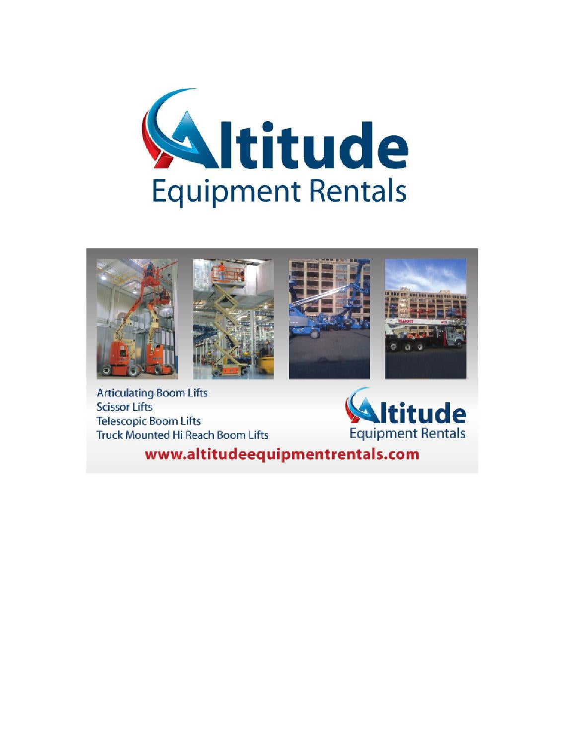 Altitude Equipment Rentals By Red Mat Publishing Issuu Genie 3232 Scissor Lift Wiring Diagram