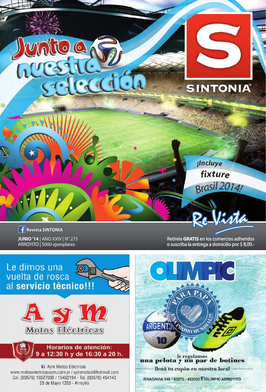 Revista SINTONIA - Junio 2014 - N° 275 by Revista SINTONIA - issuu