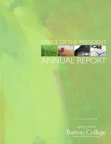 Barton College Annual Report 2012/2013 by Barton College - issuu