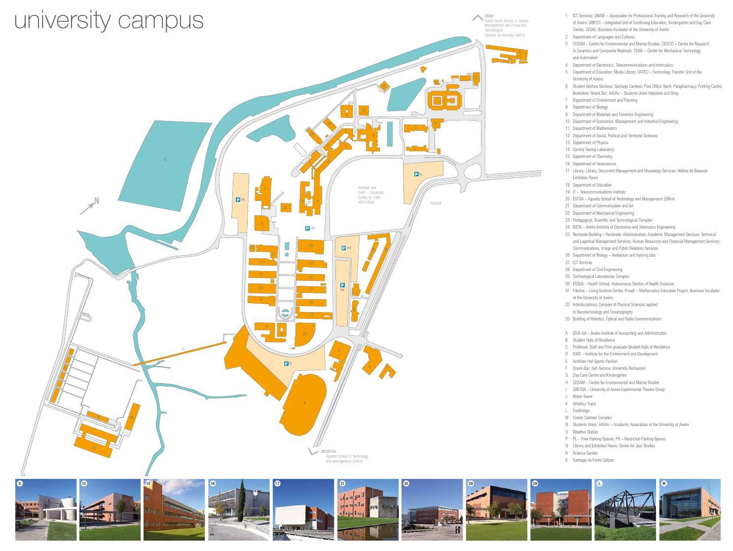 University Of Aveiro Map By Universidade De Aveiro Issuu