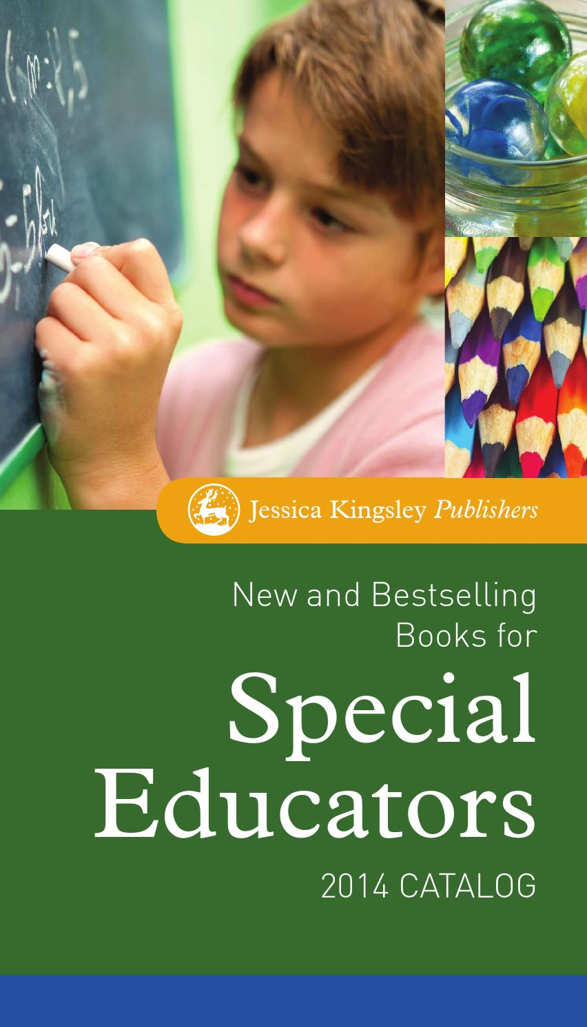 New and Bestselling Books for Special Educators 2014 Catalog by Jessica  Kingsley Publishers - issuu