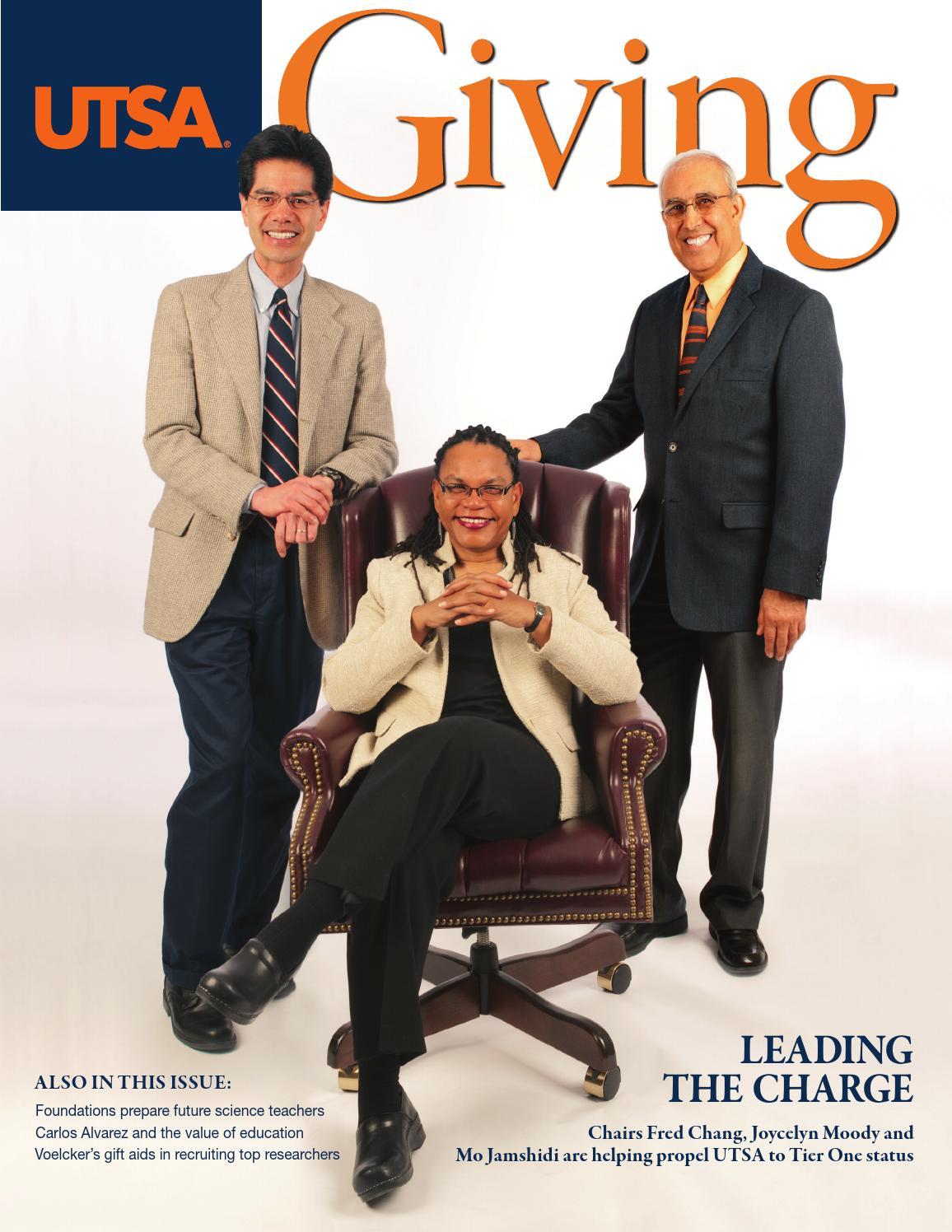 Giving 2011 By Utsa The University Of Texas At San