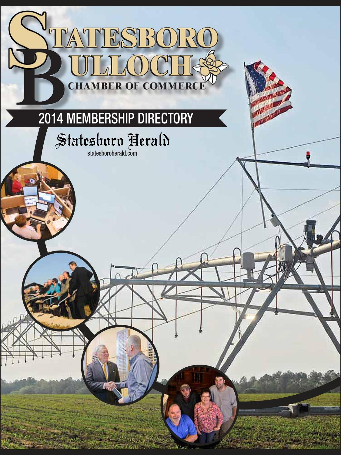 The Chamber Directory By Statesboro Herald