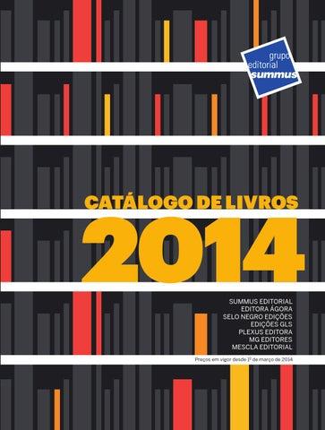 363c0d9789c Catálogo de Livros - Grupo Editorial Summus - 2014 by Grupo ...