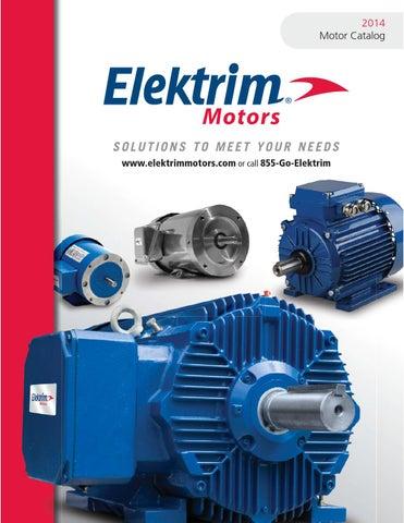 Elektrim Motor Electric Motor 2014 Catalog By Toolmex
