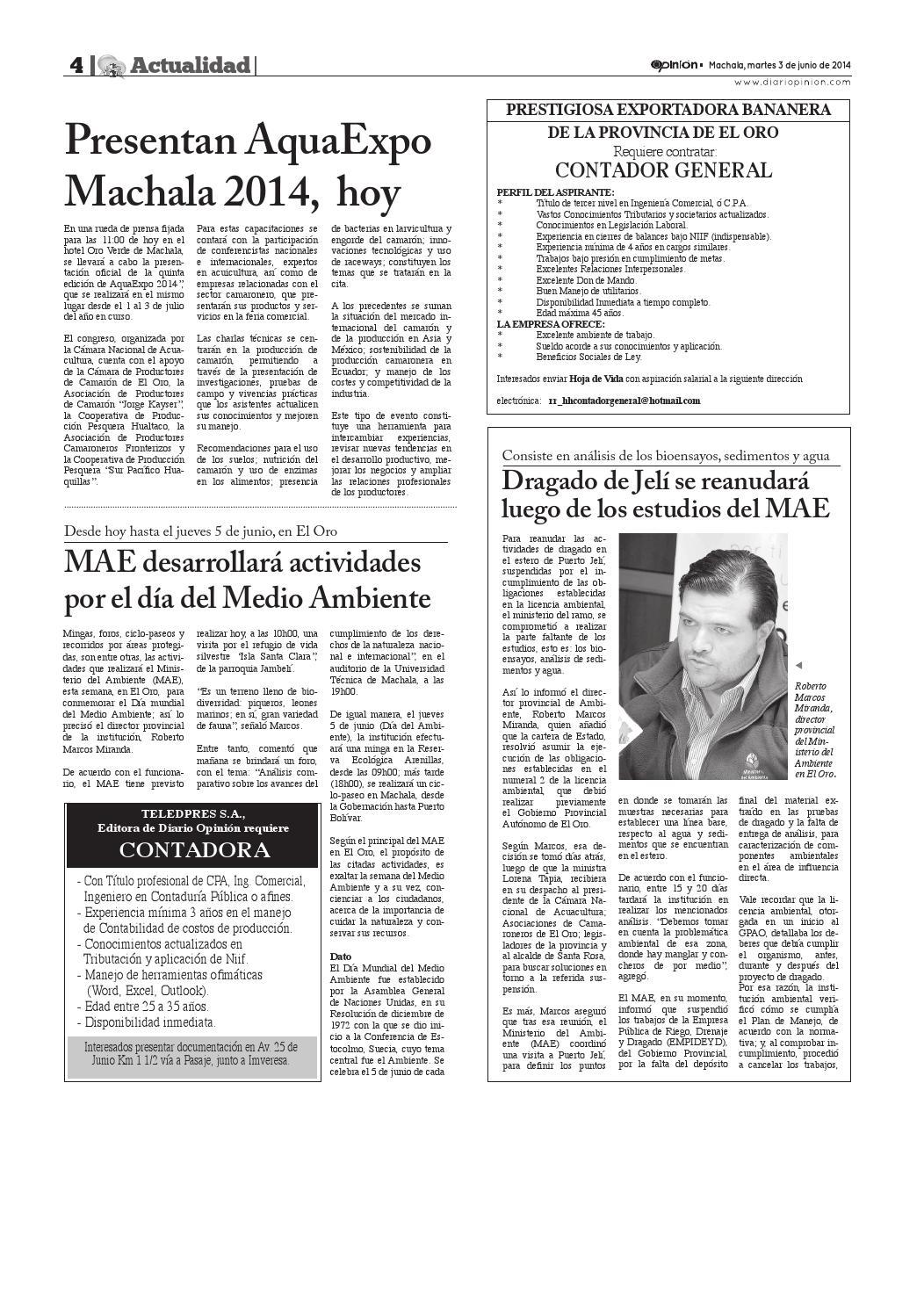 Impreso 03 06 14 by Diario Opinion - issuu