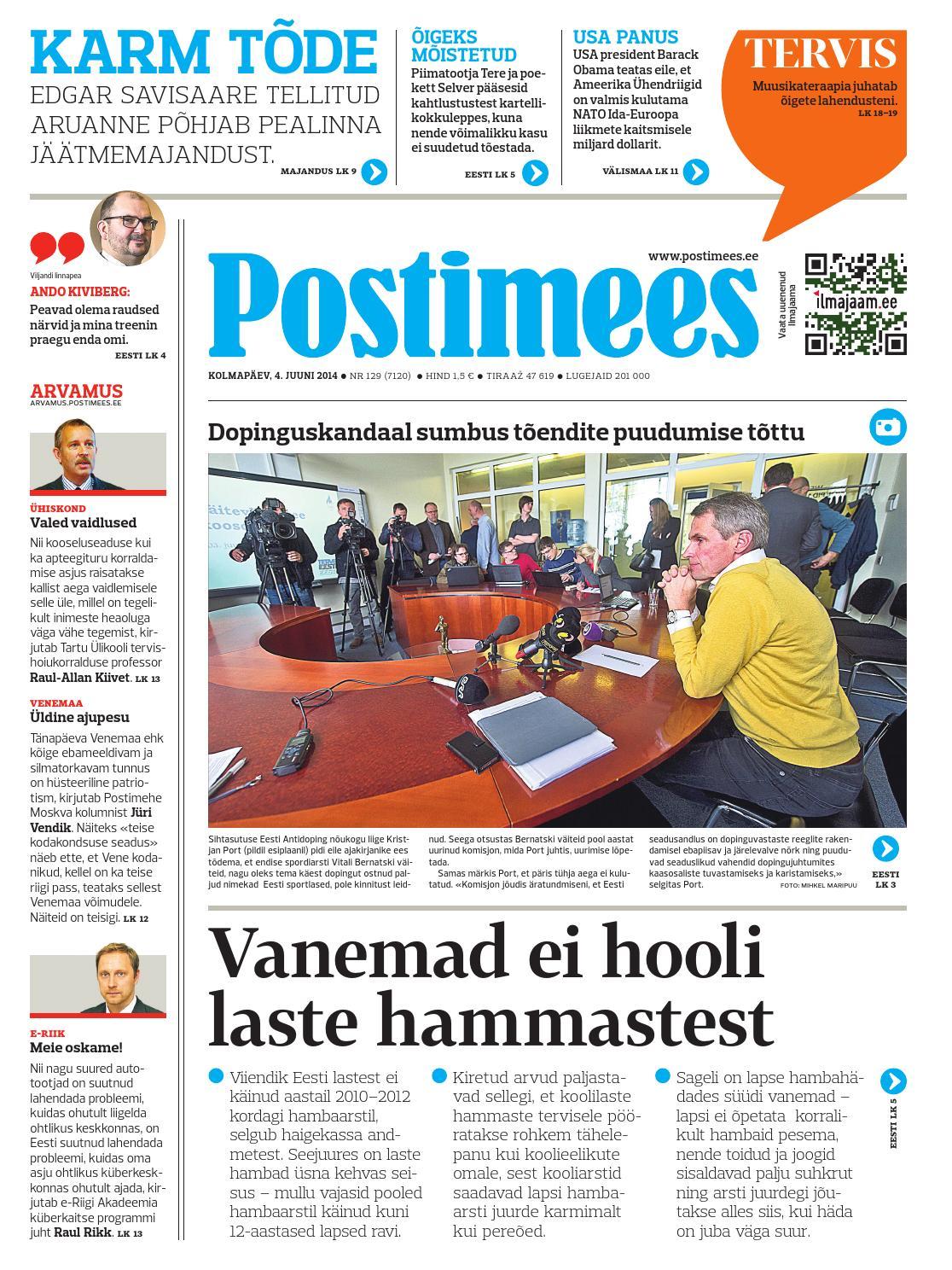 a0394da6958 Postimees 04 06 2014 by Postimees - issuu