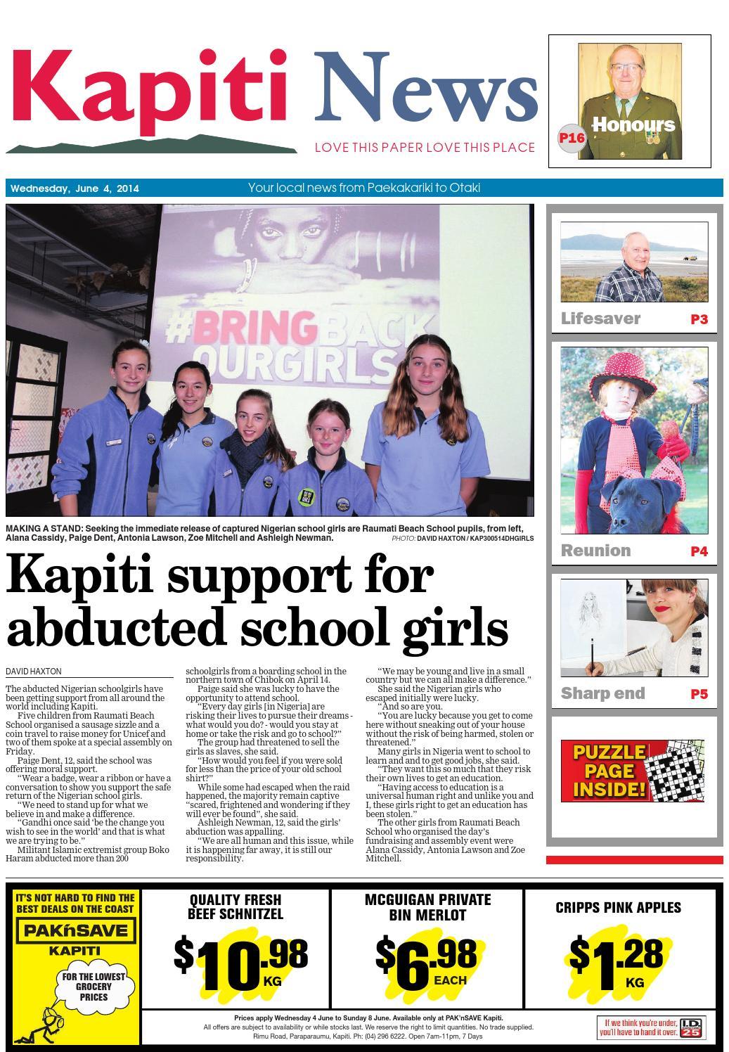 Kapiti news 04 06 14 by local newspapers issuu fandeluxe Gallery