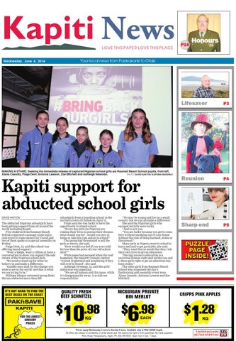 Kapiti news 04 06 14 by local newspapers issuu page 1 fandeluxe Gallery
