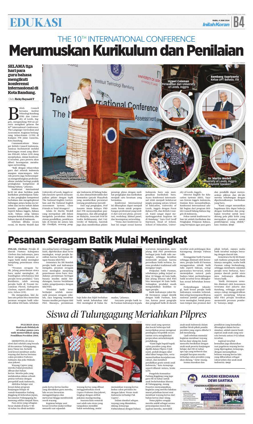 Prabowo Jaga Demokrasi By Inilah Koran Issuu