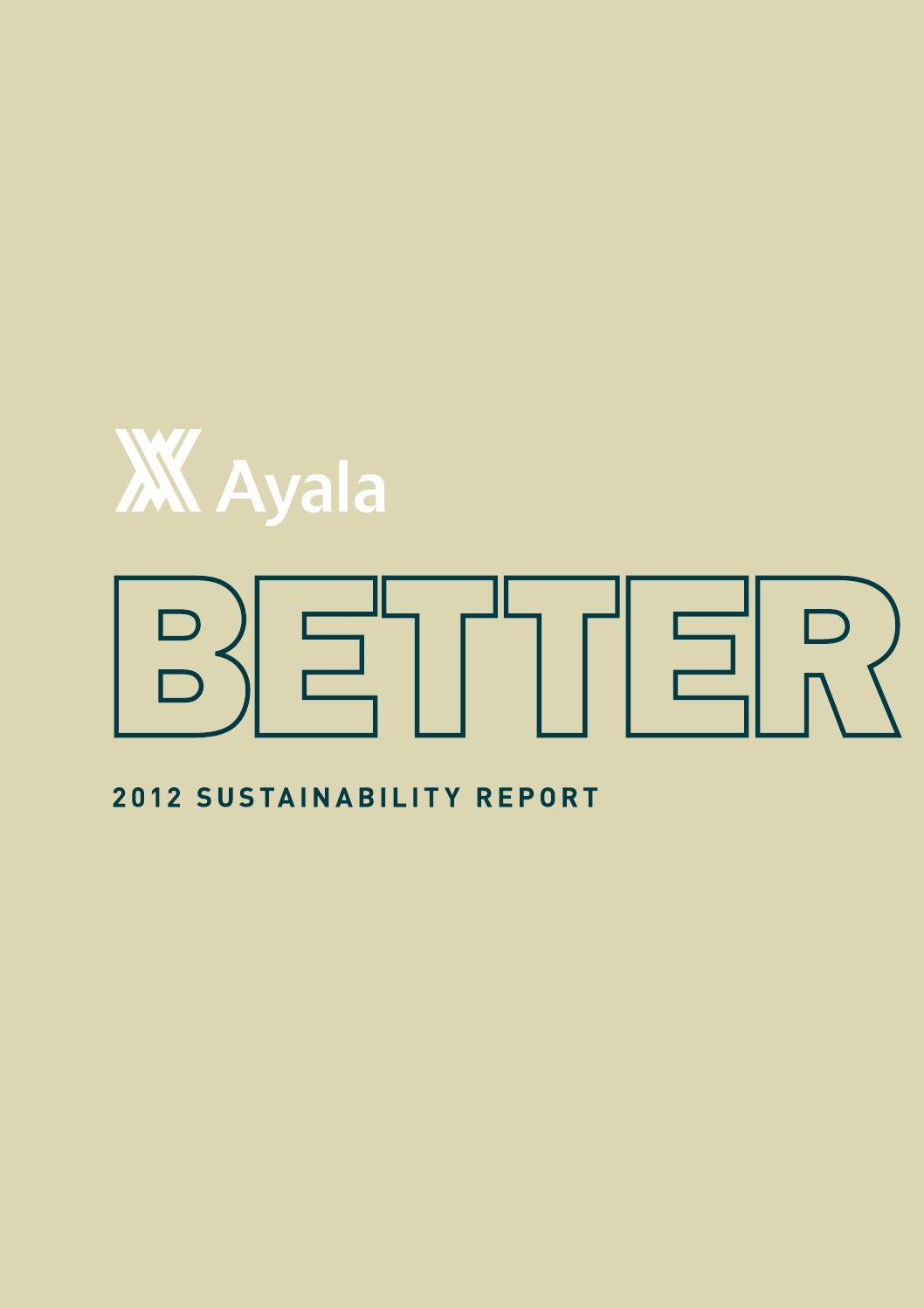Ayala Corporation - 2013 Sustainability Report by Drink - issuu