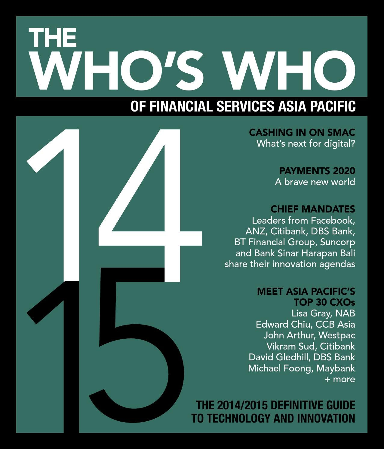 Who\'s Who of Financial Services Asia Pacific 2014/15 by FST Media ...