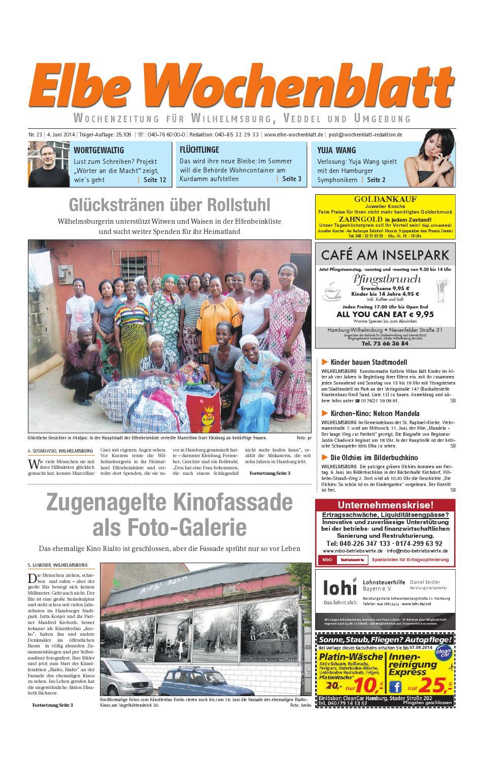 Wilhelmsburg KW23-2014 by Elbe Wochenblatt Verlagsgesellschaft mbH & Co.KG  - issuu