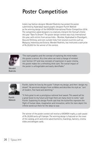 KASHISH 2014 Festival Catalog by KASHISH Mumbai