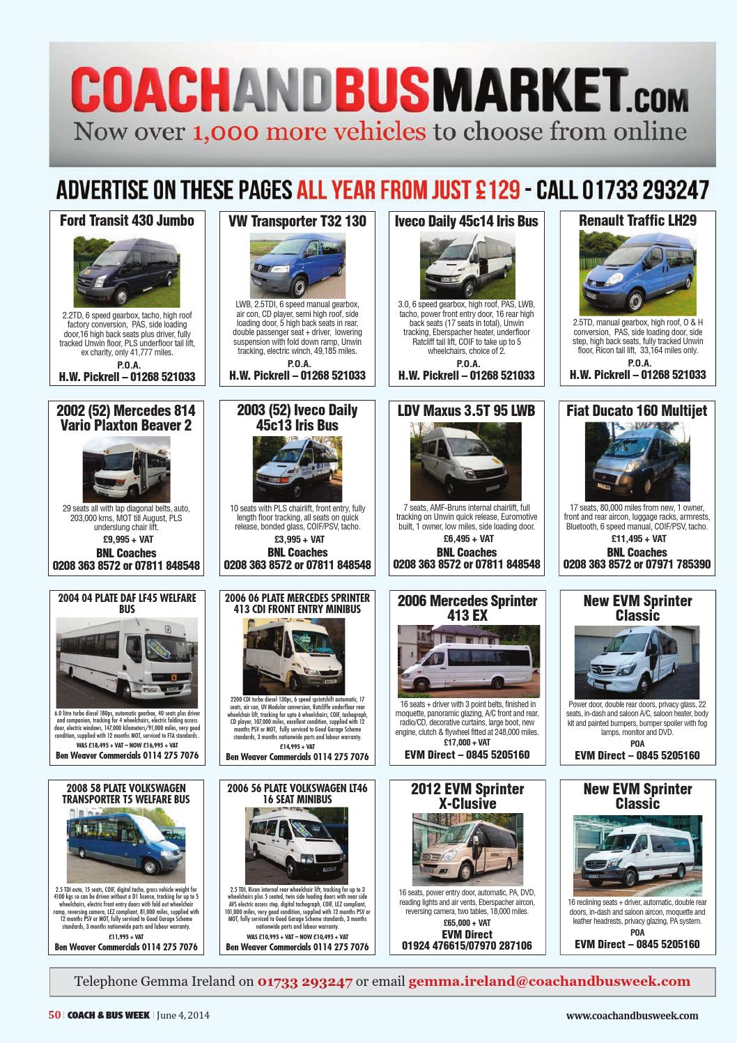 Coach & Bus Week : Issue 1140 by Coach and Bus Week & Group