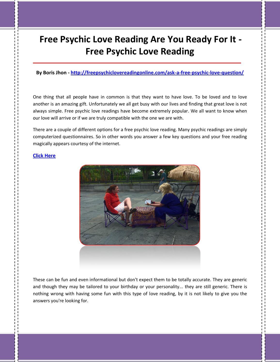 Free psychic love reading by freepsychiclovereading17 - issuu