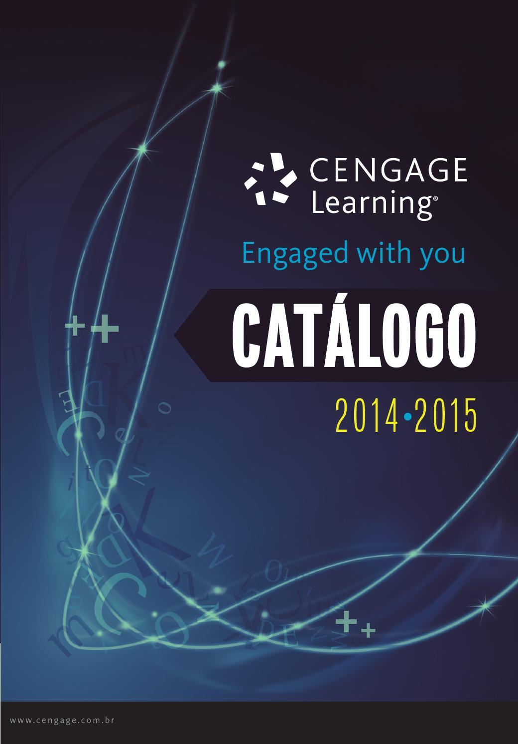 Catlogo cengage 2014 2015 by cengage brasil issuu fandeluxe Choice Image