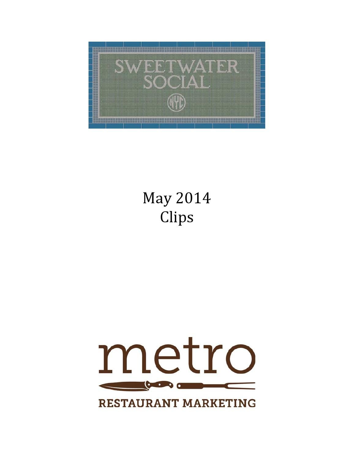 sweetwater social may 2014 sr by lindsey myers issuu