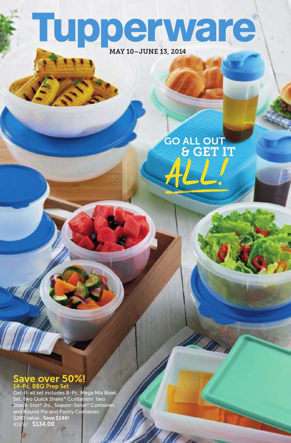 Tupperware Mid May Flyer Without Tear Off Page By Rachelle Baker Bring Your Own Lunch Set Issuu