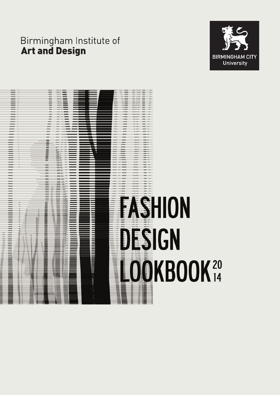 Fashion Book Cover Design ~ Fashion design lookbook by birminghamcityuniversity