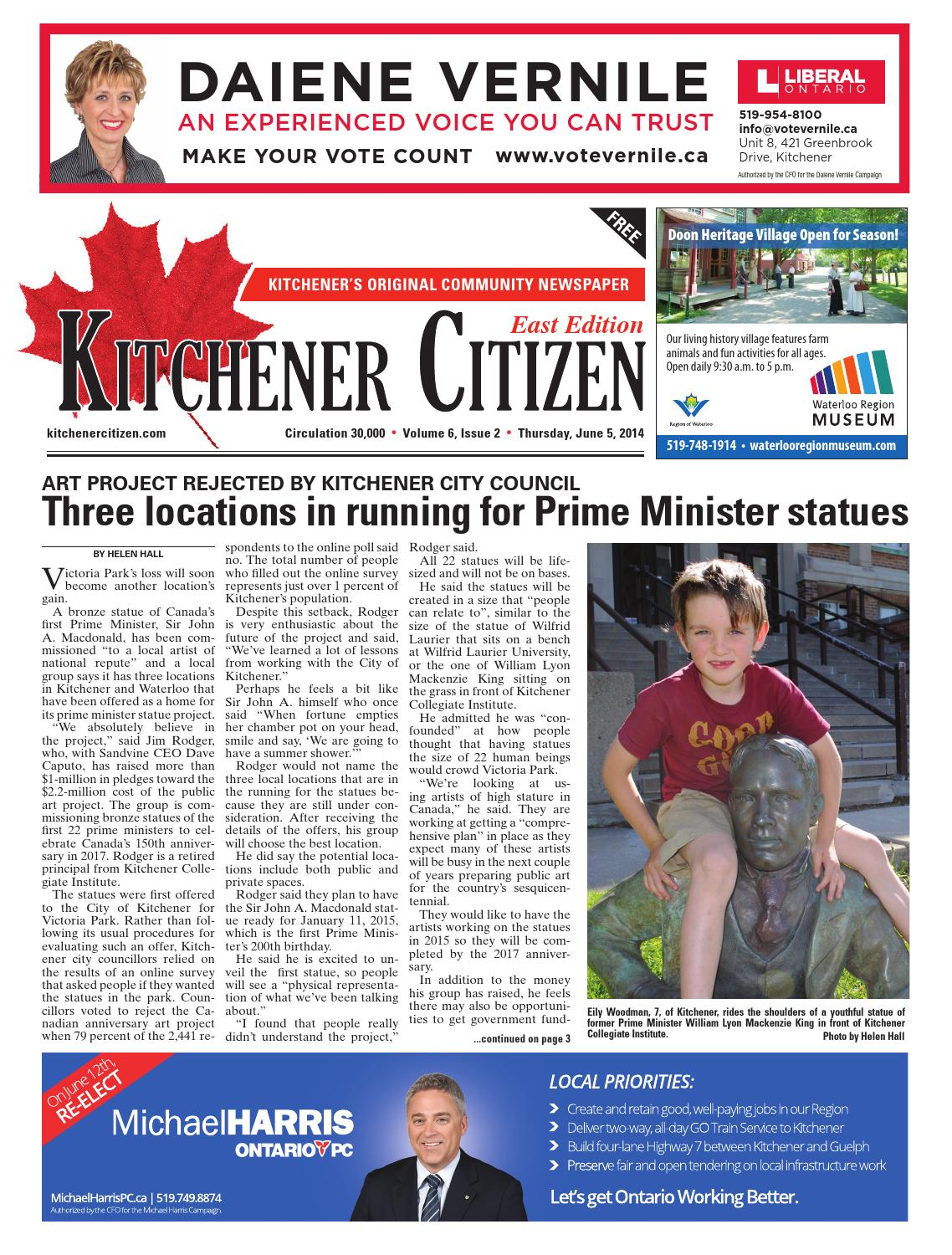Kitchener Citizen - East Edition - June 2014 by Kitchener Citizen ...