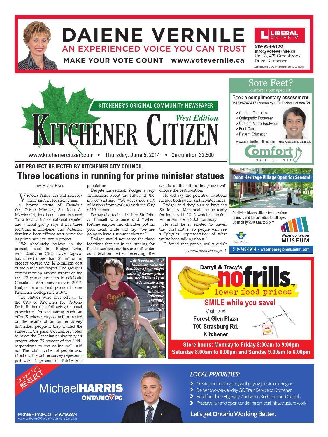 Kitchener Citizen - West Edition - June 2014 by Kitchener Citizen ...