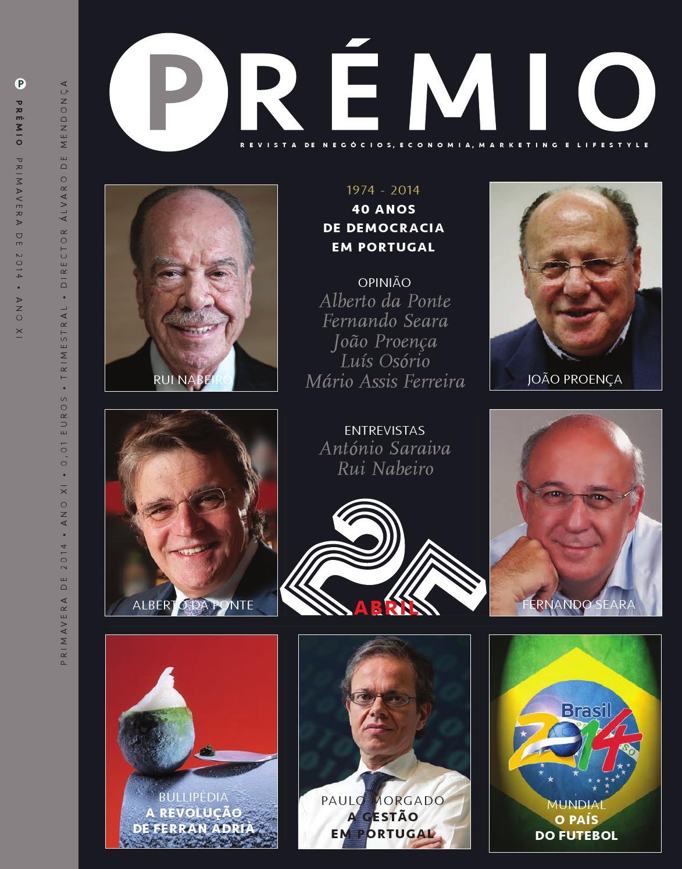 Prémio Maio De 2014 By Cunha Vaz Associados Issuu