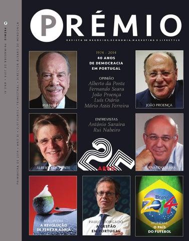 9efca34df3ca6 Prémio, maio de 2014 by Cunha Vaz Associados - issuu
