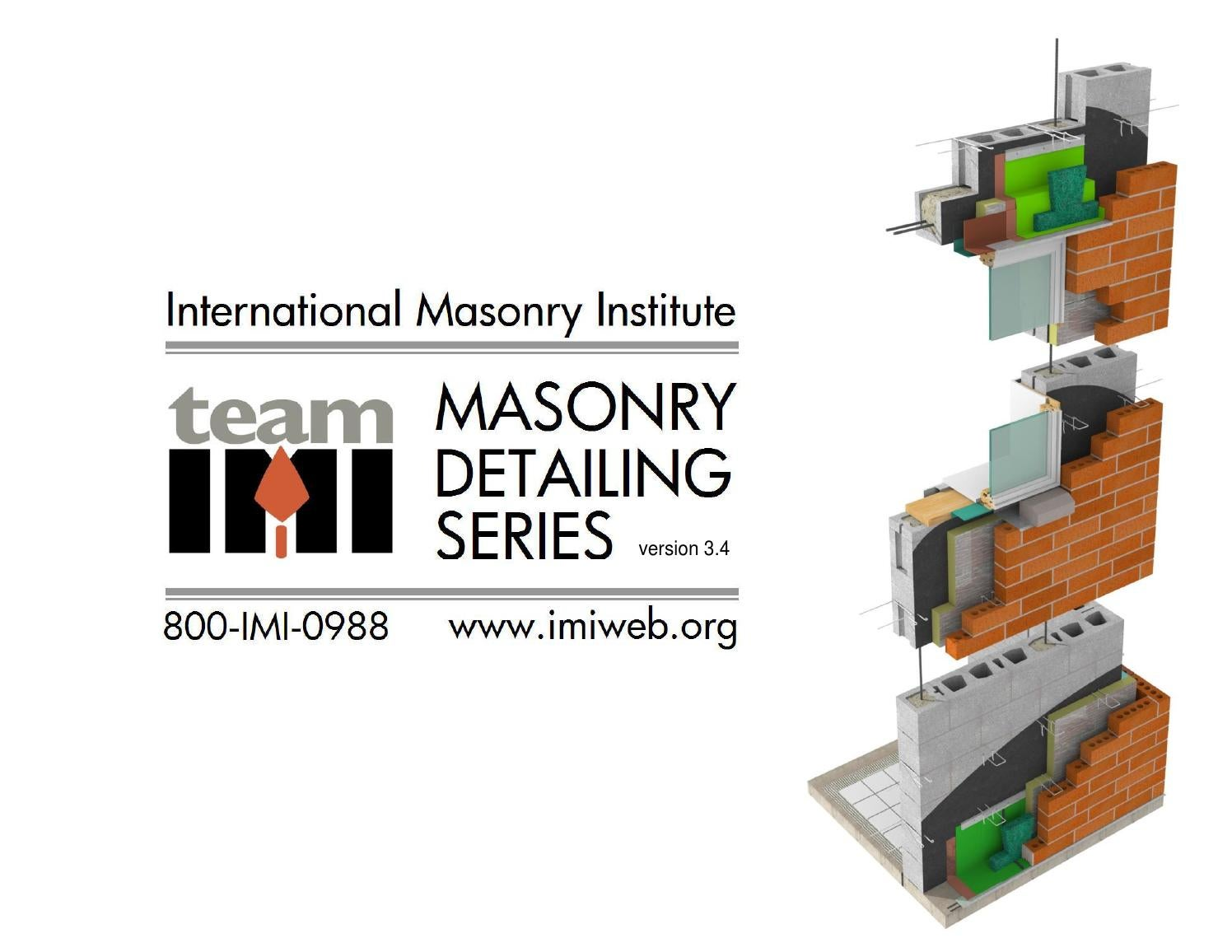 Masonry Detailing Series By Scott Conwell Aia Cdt Leed