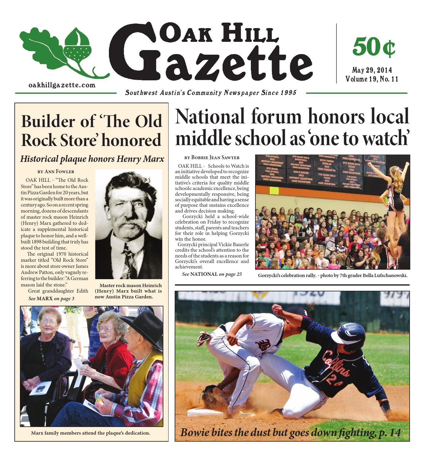 9a1cb4bce35489 May 29th by Oak Hill Gazette - issuu
