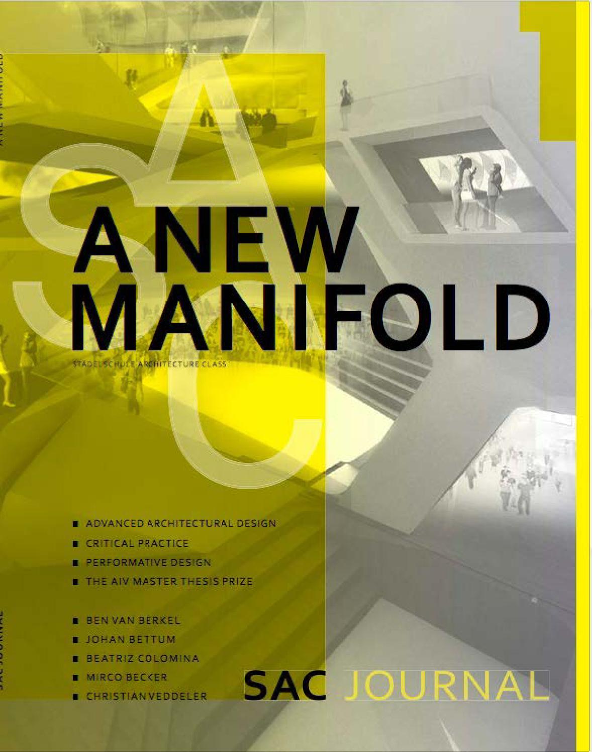 SAC 1 Journal   A New Manifold By A A D R   Issuu