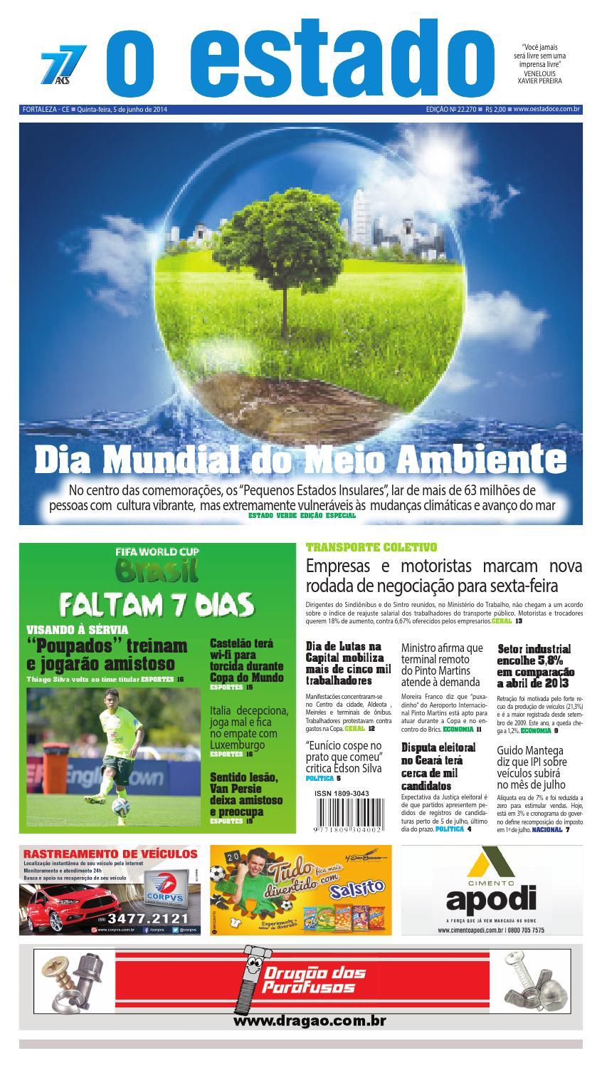 Edição 22270 - 05 de junho de 2014 by Jornal O Estado (Ceará) - issuu ad1a5fbd4a35e