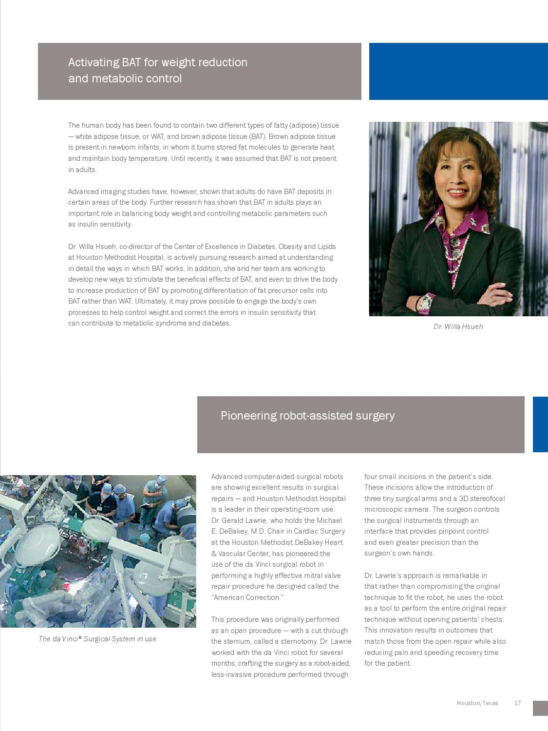 Houston Methodist Research Institute Vision Brochure By Houston