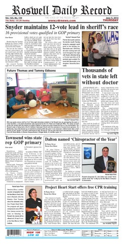 13f0e6f1f 06 05 14 Roswell Daily Record by Roswell Daily Record - issuu
