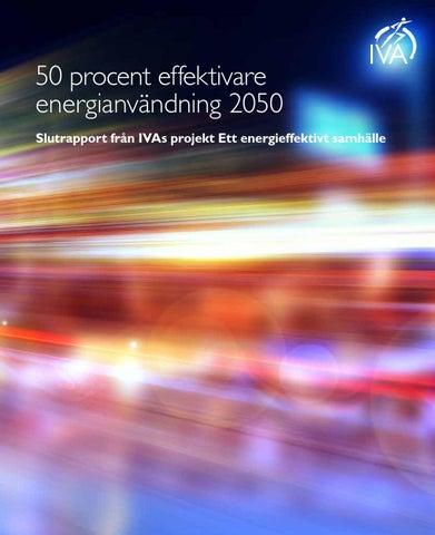 Resurseffektivitet – Färdvägar mot 2050 by Kungl ... 4fbd317391