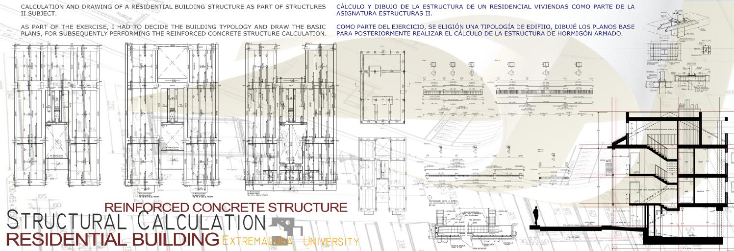 Residential Building  Reinforced Concrete Structure by David
